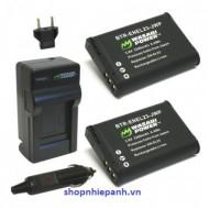 Bộ pin sạc Li-on wasabi EL23 cho Nikon Coolpix P600,P610,P900,S810c