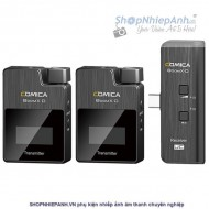 Bộ thu âm wireless Comica BOOM X-D UC2 cổng type C
