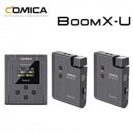 Bộ thu âm wireless Comica BOOM X-U U2 cổng 3.5mm
