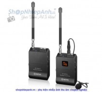Bộ thu âm wireless VHF Boya BY-WFM12 for smartphone