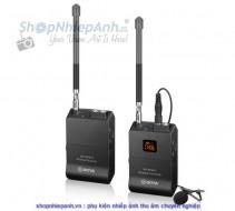 Bộ thu âm wireless VHF Boya BY-WFM12 for smartphone