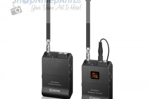 Microphone wireless VHF Boya BY-WFM12 for smartphone
