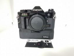 body Canon AE-1 Program kèm battery grip kalimar hàng sưu tầm