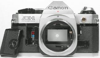 body Canon AE-1 program