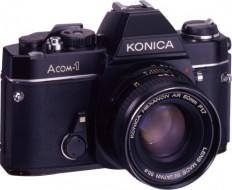 body Konica Acom-1 và lens 50f1.7