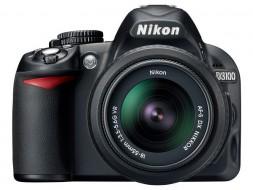 body Nikon D3100 kèm lens 18-55 VR