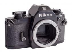 body Nikon EM trưng bày