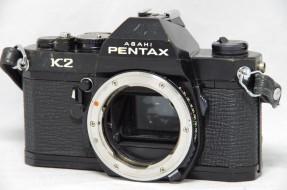 body Pentax K2 trưng bày