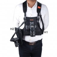 Camera Carrying Vest Camera Holster H1+H2