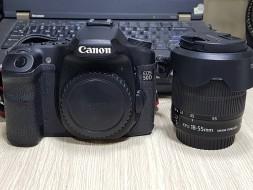 Canon 50D và lens 18-55 IS STM