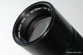 Canon FD 100-200F5.6 S.C