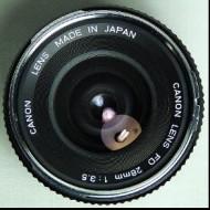 Canon FD 28f3.5