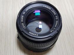 Canon FDn 50F1.4