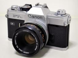 Canon FTb và lens 50f1.8