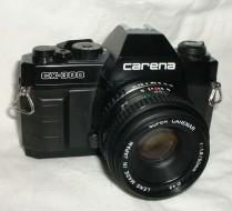Carena CX300 và lens 50f1.9