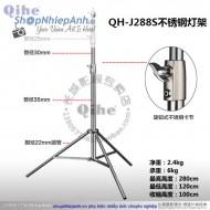 Chân đèn Inox 280cm