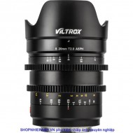 Cine Lens Viltrox S 20mm / T2.0 L-mount for Full Frame panasonic leica