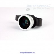 Clip lens fish eye GREEN.L for smartphone tablet