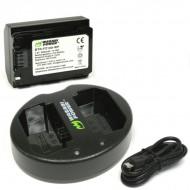 Combo 1 Pin Và Sạc Đôi WASABI NP-FZ100 for Sony A9, A7R III, A7 MARK III