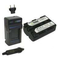 Combo 1 Pin Và Sạc Wasabi FM500H For Sony Alpha Dslr Slt-A57, A58, A65, A65V, A77, A77V, A77 II, A77M2, A99, A100, A200, A300, A350, A450, A500, A550, A560, A580, A700, A850, A900..