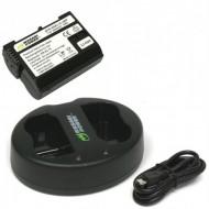 Combo 1 Viên Pin Và Sạc Đôi WASABI EN-EL15 For Nikon D610 D810 D7000 D7100...