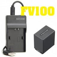 Combo 1 viên pin và sạc Ravpower FV100 FP100 FV50 for sony