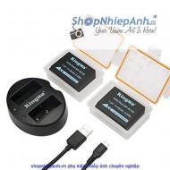 Combo 2 pin và Sạc Đôi Kingma for Fujifilm NP-W126 1140mah