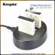 Combo 2 pin và Sạc Đôi Kingma for Nikon EN-EL12 1150mah