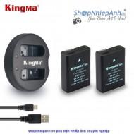 Combo 2 pin và Sạc Đôi Kingma for Nikon EN-EL14 1030 mah