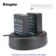 Combo 2 Pin và Sạc đôi Kingma for Nikon EN-EL20