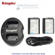 Combo 2 pin và Sạc Đôi Kingma for sony NP-FW50