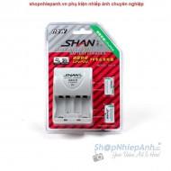 Combo 2 pin và sạc Shan for CR123A