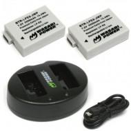 Combo 2 viên pin và sạc đôi WASABI E8 for canon 550D 600D 650D 700D