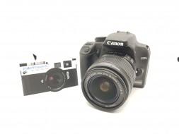 Combo Canon 1000D và lens 18-55 IS