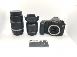 Combo Canon 60D + lens 18-55 + lens 55-250