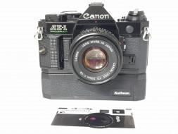 Combo Canon AE-1 Program và battery grip và lens 50