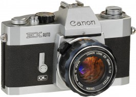 Combo Canon EX auto và lens 50f1.8