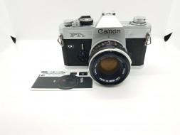 Combo Canon FTb và lens 50f1.8