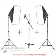 Combo chụp ảnh sản phẩm livestream smartphone (Professional)