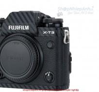 Combo dán Carbon bảo vệ body Fujifilm X-T3