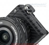 Combo dán Carbon bảo vệ body sony A6400 A6300 và lens kit 16-50
