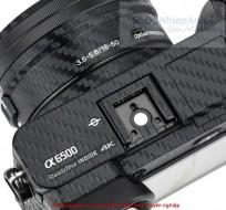 Combo dán Carbon bảo vệ body sony A6500 và lens kit 16-50