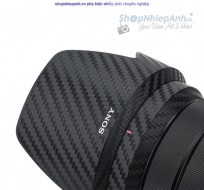 Combo dán Carbon bảo vệ Lens Sony 18-105F4 G OSS