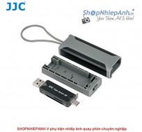 Combo đầu đọc thẻ 3.0 và hộp đựng thẻ JJC MCR-STM5GB