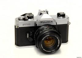 Combo Fujica STX-1 và lens 50
