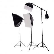 Combo kit 3 đèn studio 1125W