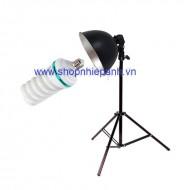 Combo Kit đèn chụp sản phẩm 125w size nhỏ