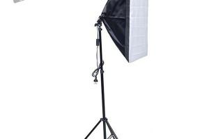 Combo kit đèn chụp sản phẩm softbox 50x70 125w