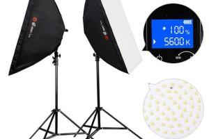 Combo Kit Đèn LED livestream Eirmai YD601 (chỉnh nhiệt độ màu)