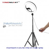 Combo Led ring light 26 cm for vlogger live streamer make up